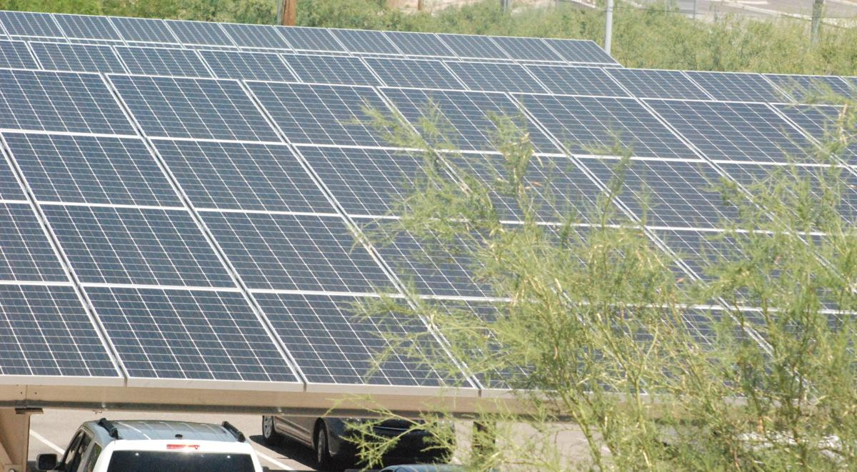 Solar campgrounds