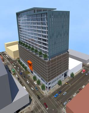 Lease-purchase approved at 75 E. Broadway for new office tower