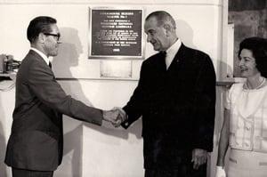 Koch and LBJ