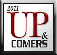 Up and Comers logo