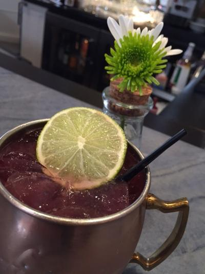 Wildflower's Fig and Ginger Mule