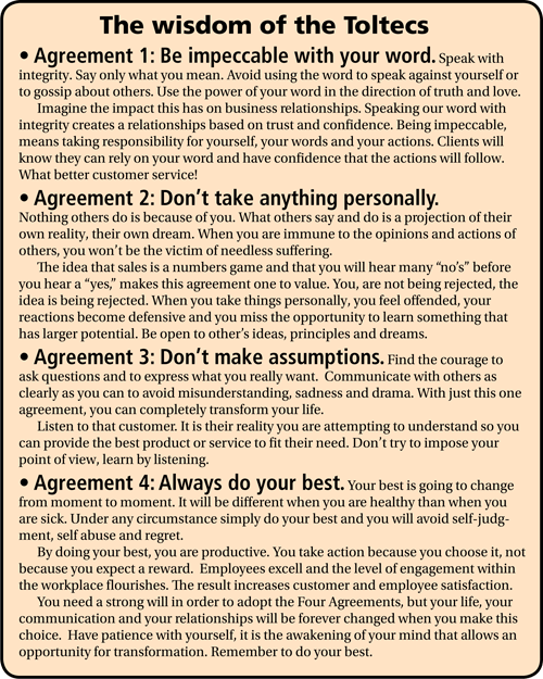 Four Timeless Toltec Agreements That Will Help Your Business Now