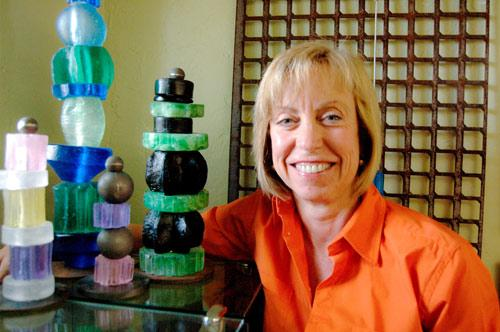Landscape architect brings art to her designs