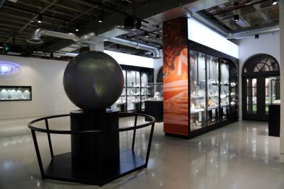Mineral Evolution Gallery at the University of Arizona Alfie Norville Gem & Mineral Museum