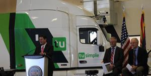 Ducey Announces World's Largest Autonomous Truck Fleet Coming to Tucson