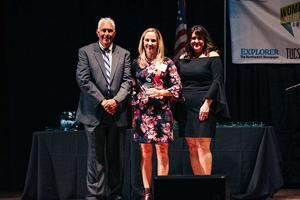 Officer Sarah Haught wins Public Service Champion at 2019 Women of Influence