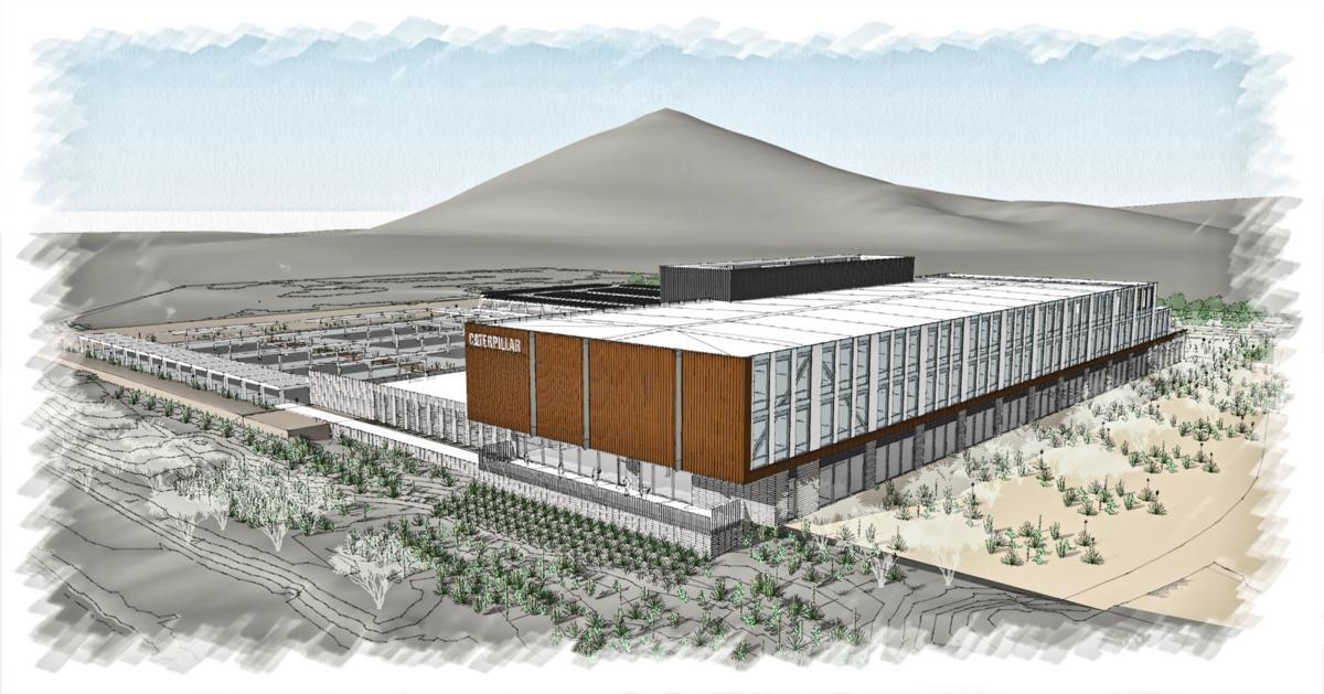 Future Caterpillar building