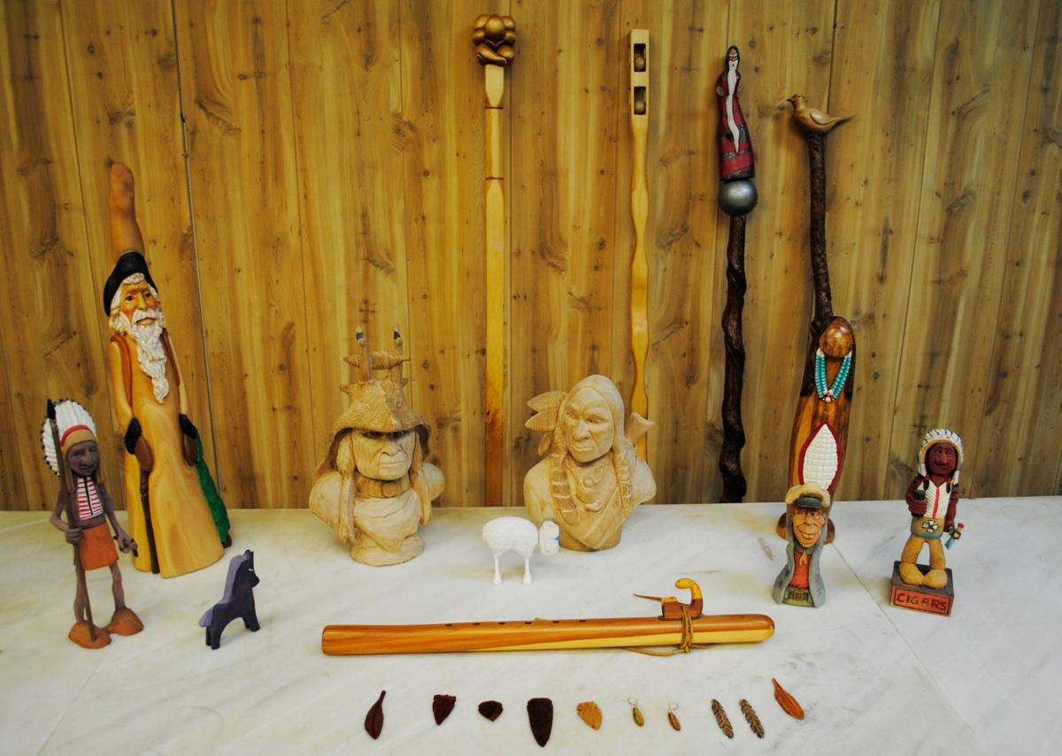 AuSable man strives to promote, sustain the art of wood