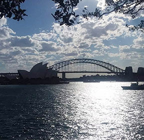 STATIONED IN SYDNEY