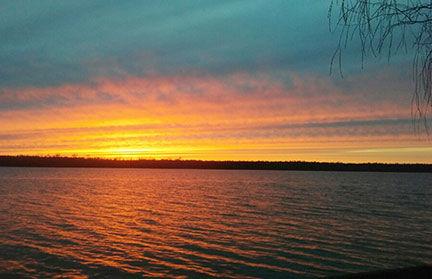 Tawas Lake Sunset 2