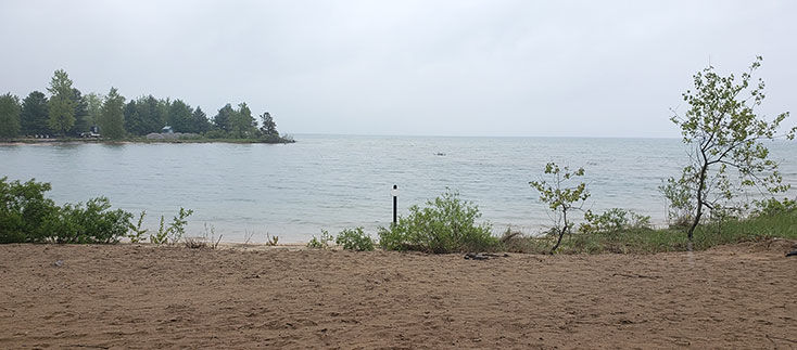 NOW PART OF LAKE HURON