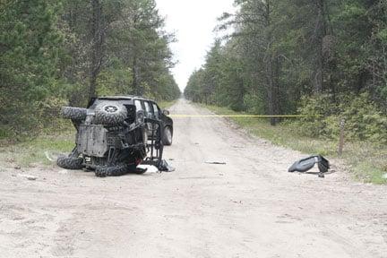POLARIS RZR RAZOR CRASH SAVE 2012 MUST SEE ... |Polaris Rzr Crash