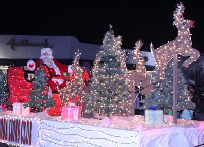 12th Annual Holiday Light Parade ushers in holiday season in