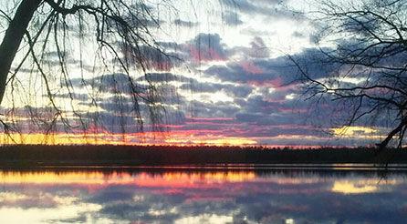 Tawas Lake Sunset 1