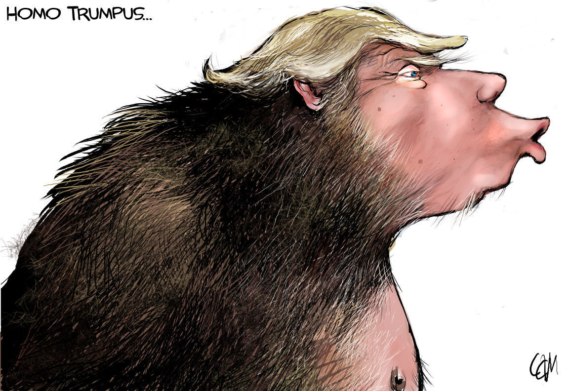 Trump the missing link