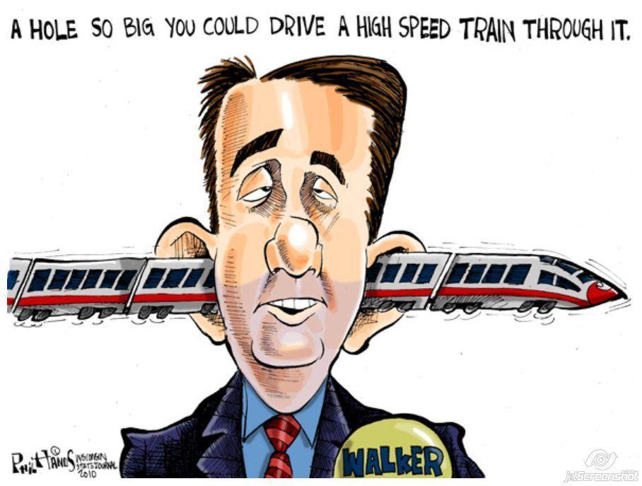 Scott Walker's Train