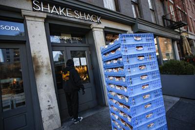 Virus Outbreak Shake Shack