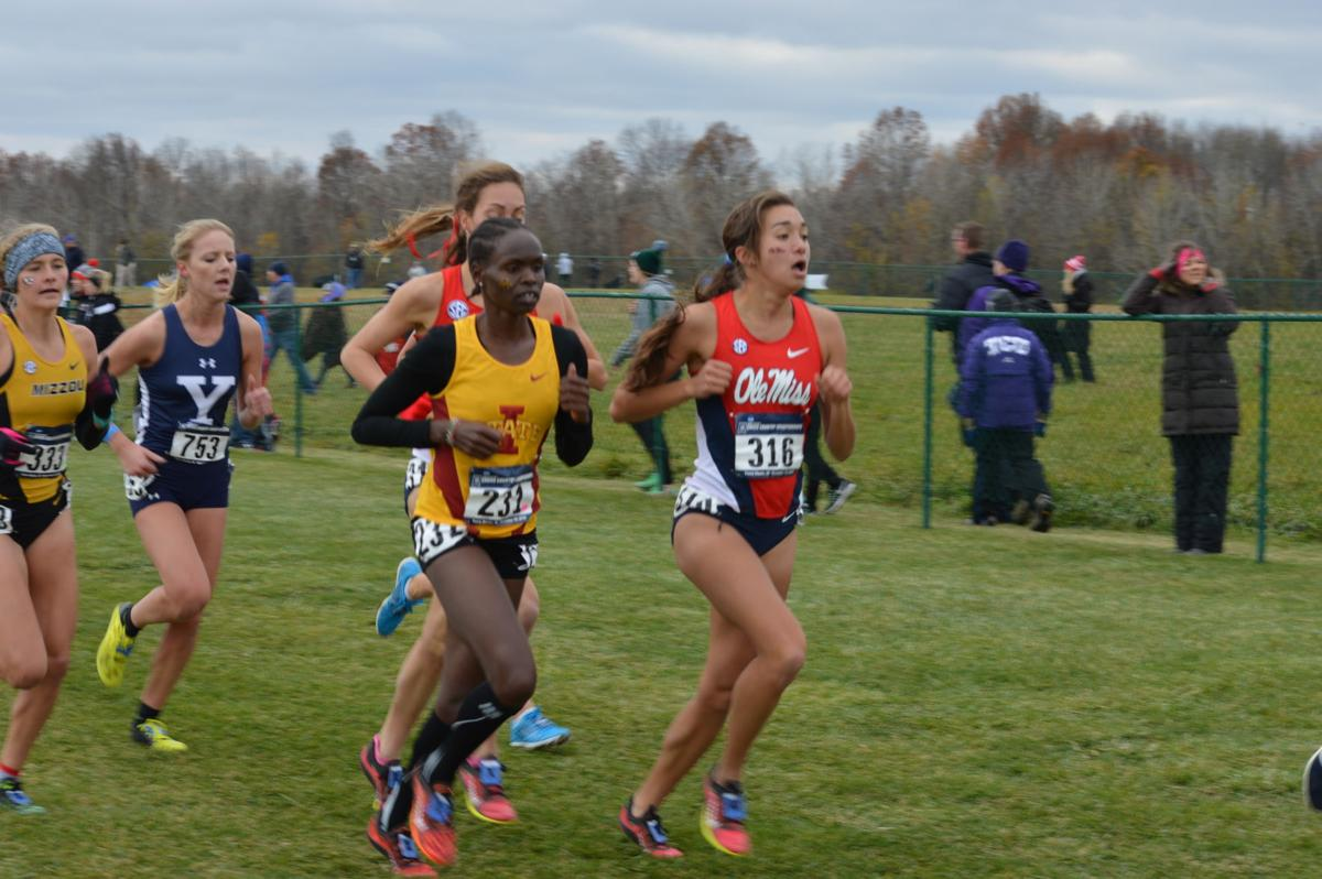 Perez Rotich at 2016 NCAA Cross-Country Championships