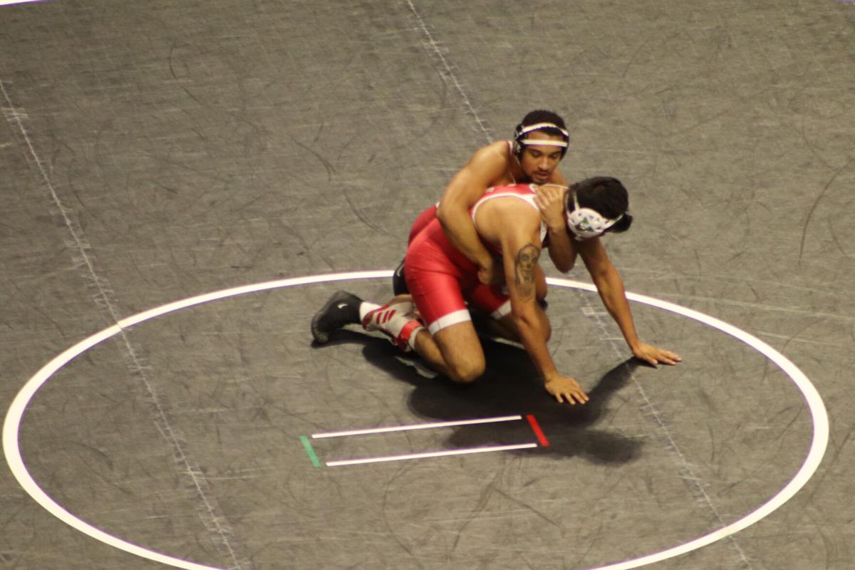 Marcus Coleman- Big 12 Championships round one