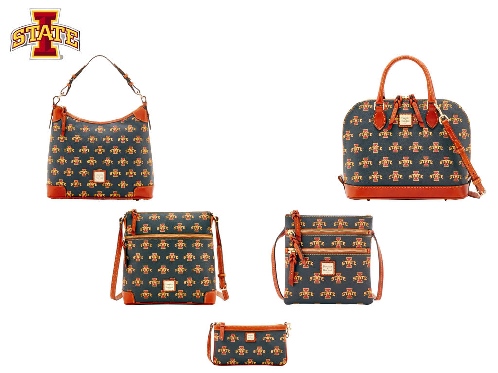 Dooney And Bourke College Purses Monogrammed Clutch Purses