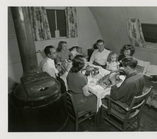 Thanksgiving Pammel Court 1948