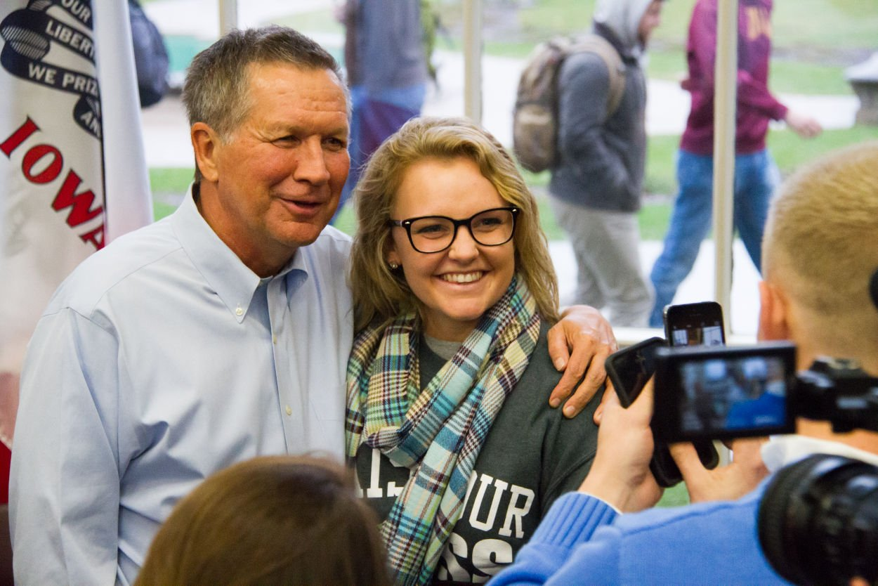 format letter of resignation as employee%0A Presidential candidate John Kasich  current governor of Ohio  speaks at a  town hall style meeting Nov      Kasich talked about and answered questions