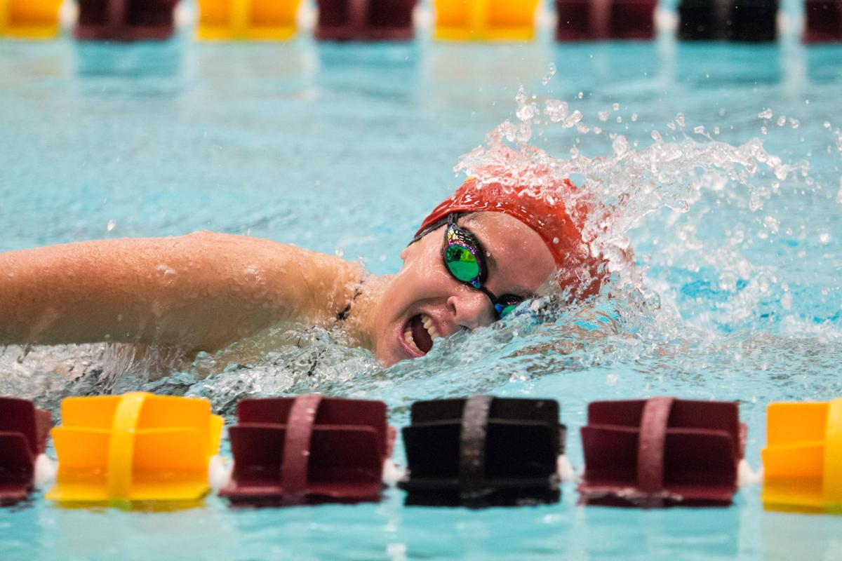 Cardinal and Gold Swim Meet