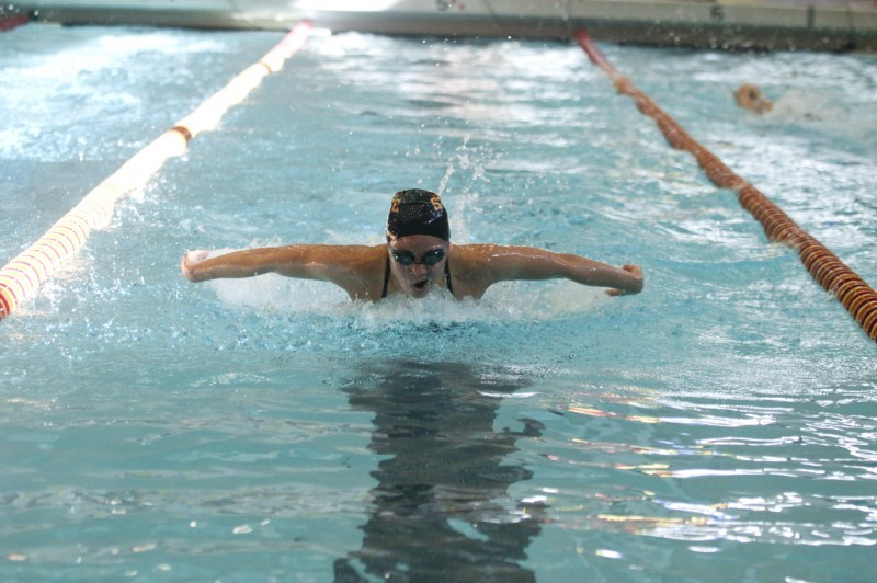 Swimming - 100-Yard Butterfly