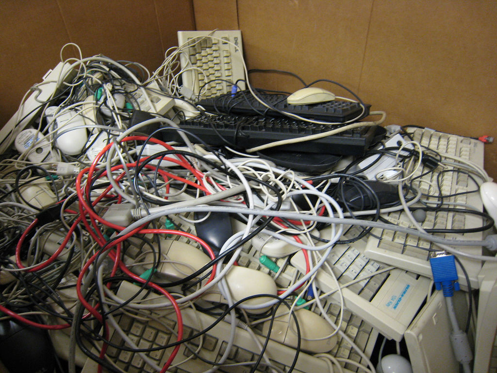 Keyboards going to be recycled