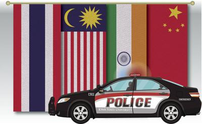 multicultural police