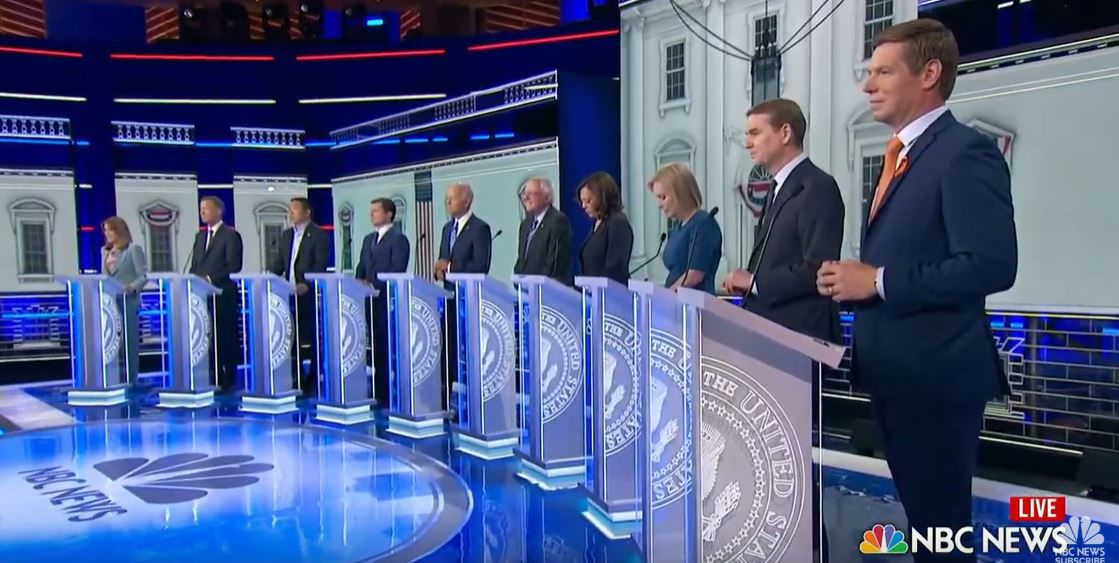 Second debate night