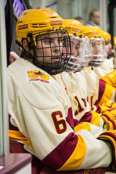 Cyclone Hockey squares off against Oklahoma this weekend in a Top 25 battle
