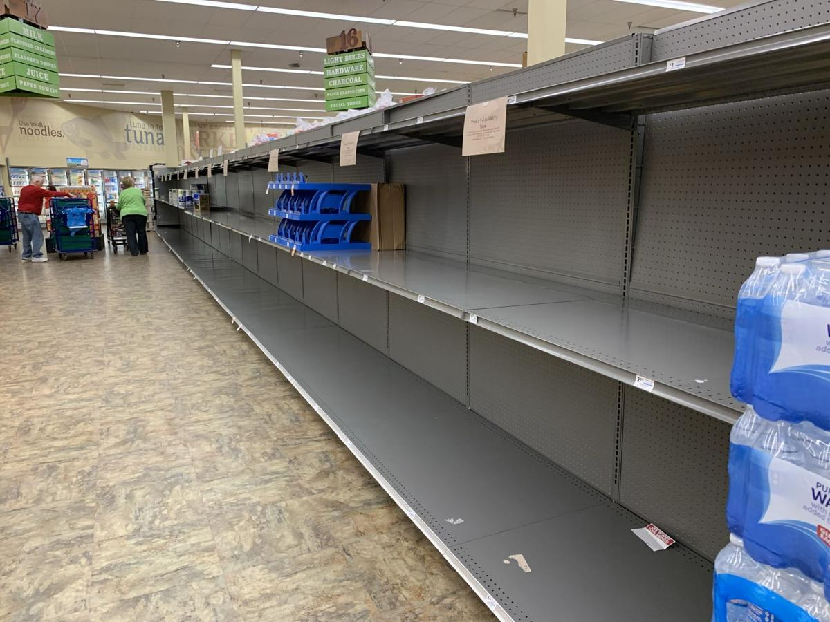 Empty Shelves Coronavirus