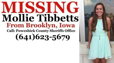 Mollie Tibbetts Missing sign