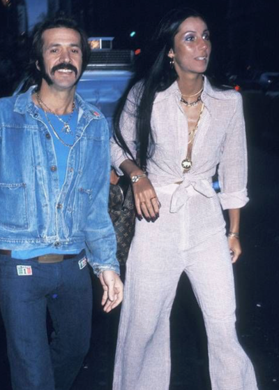 Cher and Sonny Bono