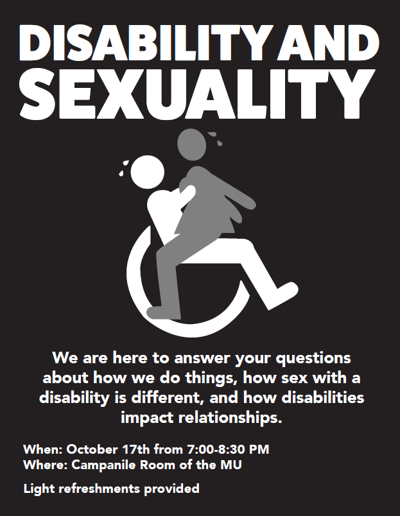 disability and sexuality panel