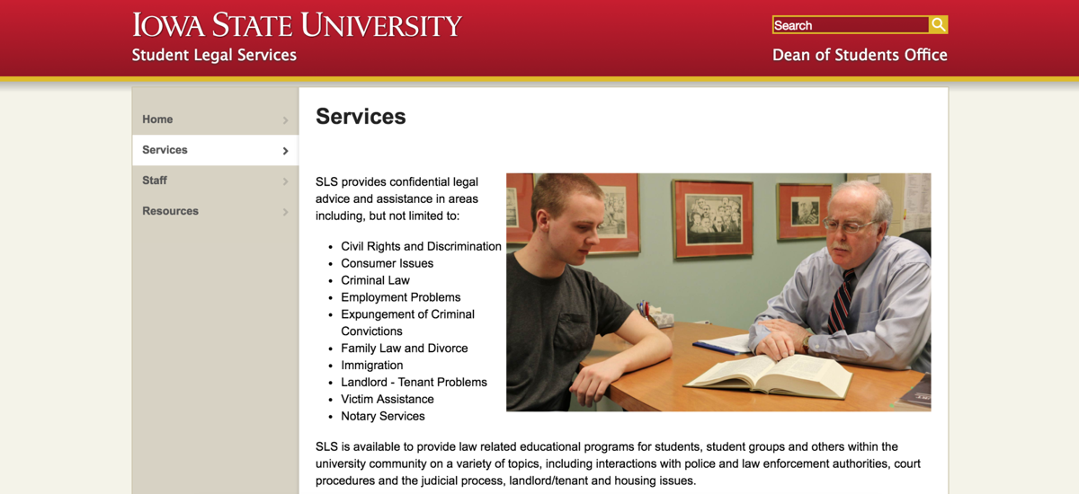 Student Legal Services (copy)