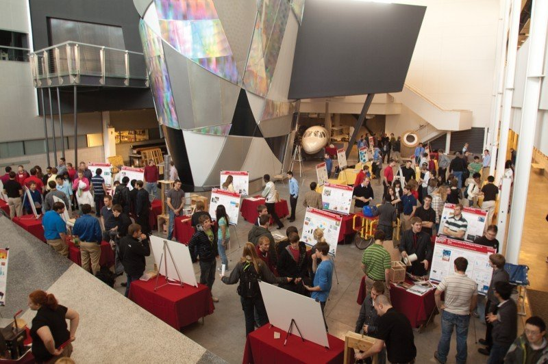 Mechanical Engineering Students Exhibit Projects At Design Expo News Iowastatedaily Com