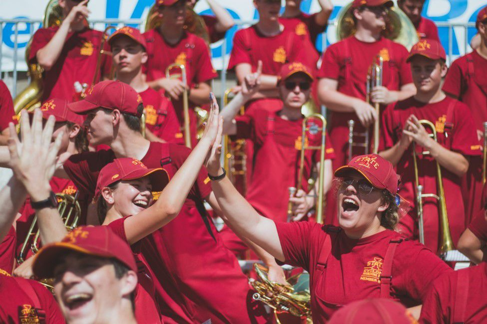 marching pep band