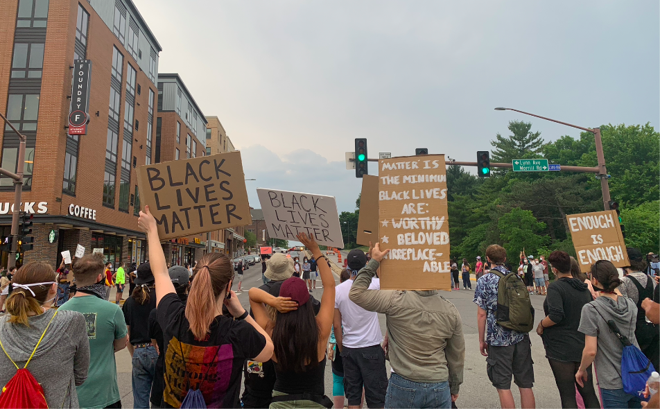 March for Justice - Ames BLM