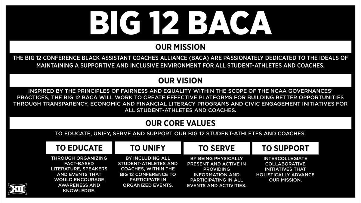 BACA mission statement graphic