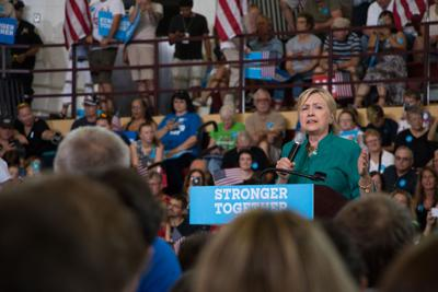Hillary Clinton in Des Moines
