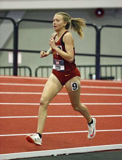 Cailie Logue 2021 Big 12 Indoor Championships