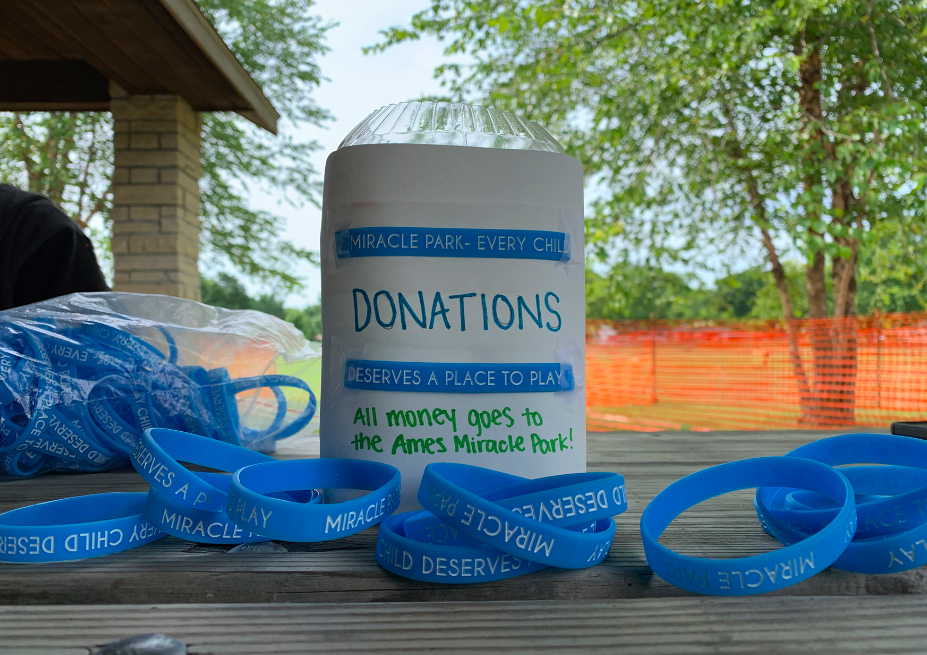 Ames Miracle Playground bracelets