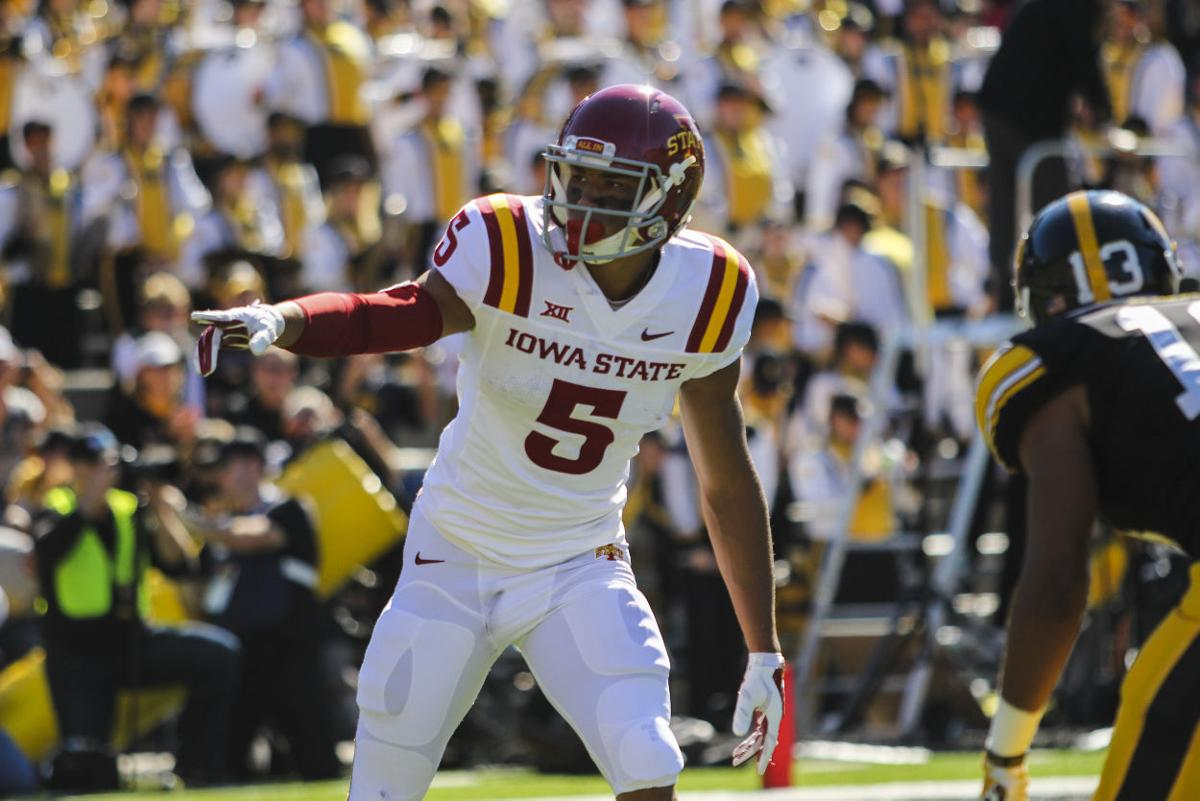 Allen Lazard Fits Into New Role Wide Receiver S Performance Impresses Team Coaches Football Iowastatedaily Com