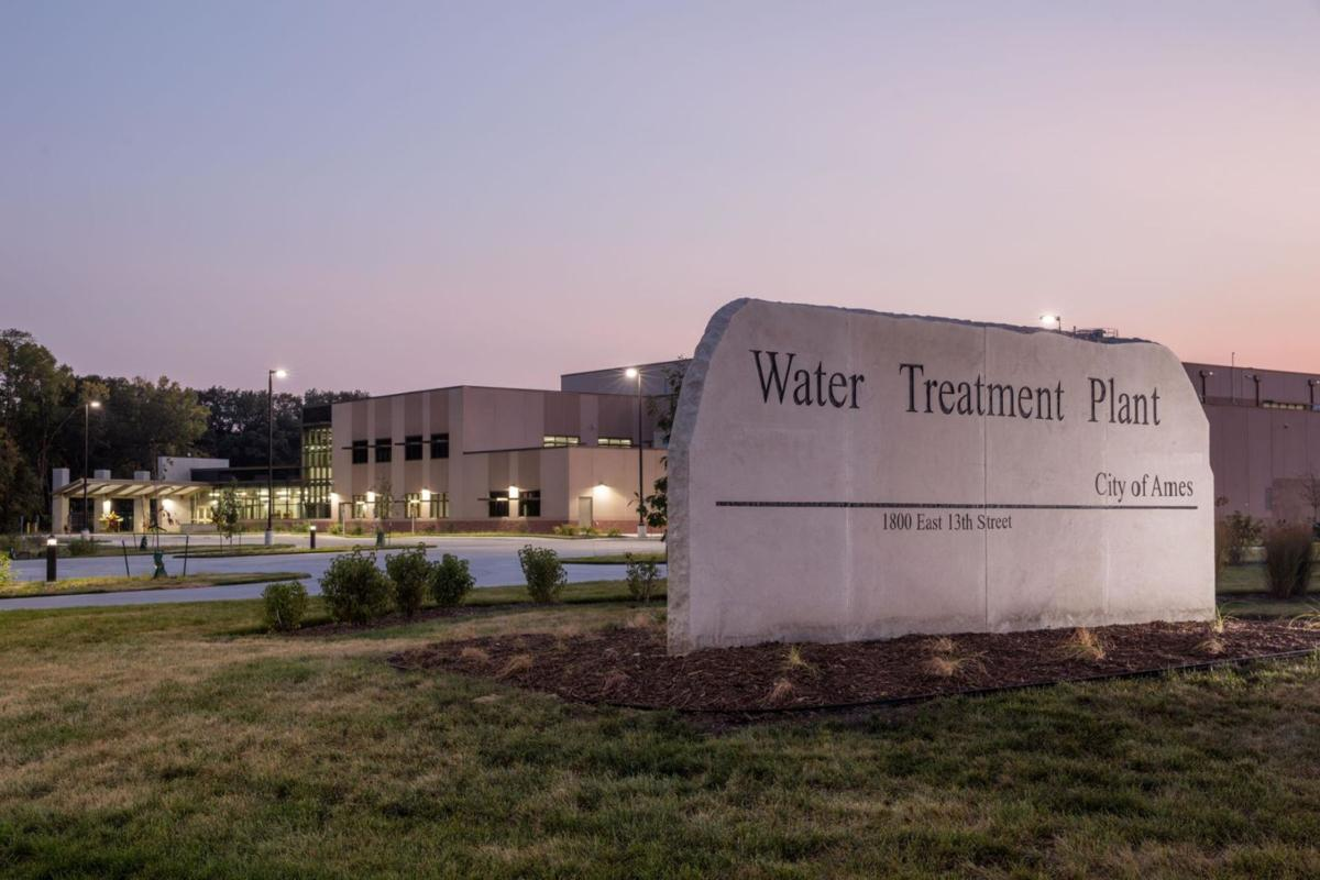Ames water treatment plant