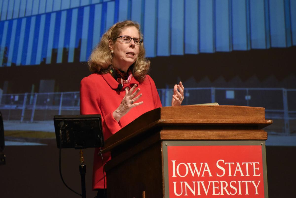 Wendy Winterseen state of the university