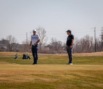 Mens Golf Practice - Tank and Keohane