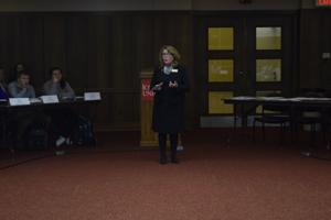 Library dean presents current initiatives at Student Government