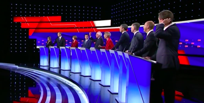 first night second democratic debate 2020